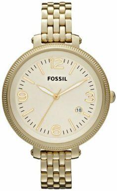 Fossil Women's ES3192 Heather Three Hand Stainless Steel Gold-Tone Watch, http://www.amazon.com/dp/B00A9WWKZW/ref=cm_sw_r_pi_awdm_SyNMtb1QJW3A2