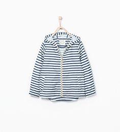 ZARA - SALE - Raincoat with hood
