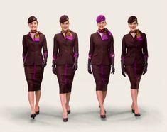 Etihad Airways new uniform!
