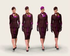 Etihad Airways new uniform!