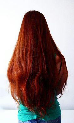 Henné+ cheveux longs= ☆★☆★☆
