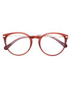 999611f98eb Chloé - Red Oversized Frame Glasses - Lyst