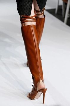 Hot Sale Women Fashion Open Toe Clip Toe Over Knee Gladiator Boots Lace-up  Buckle Design Cut-out High Heel Boots Dress Shoes eee77a3b735d