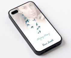 "Demi Lovato Staying Strong For iPhone 6 4.7"" screen Black Case"