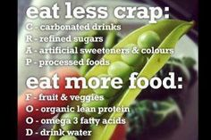 Eat better even though i crave to much crap Health Tips, Health And Wellness, Health Fitness, Fitness Fun, Health Care, Fitness Tips, Fitness Foods, Wellness Quotes, Fitness Journal
