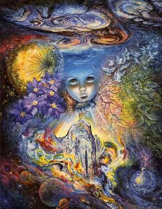 Child of the Universe by Josephine Wall
