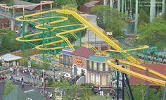 Ragin' Cajun - Six Flags Great America