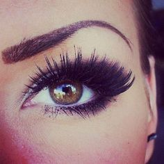 big lashes.. GIMME