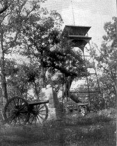 Observation tower on Culp's Hill, Gettysburg, Pennsylvania
