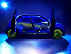 Ross Lovegrove and Renault create the high-concept Twin'Z city-car City Car, Sketch Inspiration, Design Inspiration, Design Strategy, Automotive Design, Auto Design, Transportation Design, Innovation Design, Business Innovation
