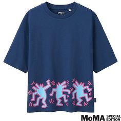 ff3548f6a9915 Women sprz short sleeve graphic t-shirt (keith haring)