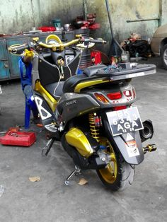 Gapa Motorsport Yamaha Nmax Modifikasi Medan Indonesia Gas Powered Scooters, Yamaha Nmax, Medan, Cars And Motorcycles, Vehicles, Motorbikes, Car, Vehicle, Tools