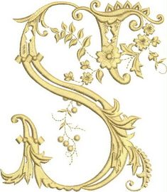 Most up-to-date Pic Embroidery Designs monogram Ideas Embelleshment is usually a gorgeous method to illuminate your own home along with an incredible pastime for y Machine Embroidery Quilts, Machine Embroidery Projects, Free Machine Embroidery Designs, Machine Applique, Applique Designs, Embroidery Monogram, Embroidery Fonts, Embroidery Patterns, Freestanding Lace Embroidery