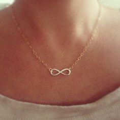 Dainty Infinity Necklace - Vintage Inspired Jewellery By Zara Taylor