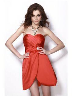Vogue Sweetheart Sleeveless Natilies Homecoming Cocktail Dress