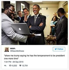 Enjoy this collection of humorous political memes and parodies featuring former President Barack Obama. Trump Debate, Trump Wins, Thanks Obama Meme, Obama Tumblr, Tumblr Funny, Funny Memes, Funny Sayings, Hilarious, Debate Memes