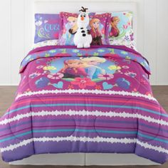 Disney® Frozen Nordic Summer Reversible Twin/Full Comforter + BONUS Sham Collection - JCPenney