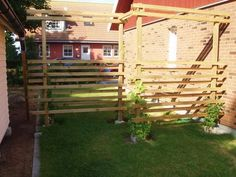 privacy fence with a twist