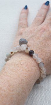Rose quartz and agate mala bracelet with a hand carved lotus charm from Pillow Book Design. Yoga Gifts, Yoga Fashion, Natural Shapes, Agate Beads, Book Design, Rose Quartz, Lotus, Hand Carved, Beaded Bracelets