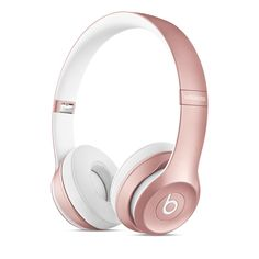 Rose gold...yes, I know, they're Beats. But I have heard the newer versions are much much better...