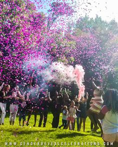 Get your Gender Reveal Kit which includes Smoke Bombs, Confetti Cannons and Boy/Girl Balloons. Gender Reveal Celebrations offers the perfect Gender Reveal Party Kit. Pregnancy Gender Reveal, Baby Gender Reveal Party, Gender Party, Gender Reveal Smoke Bomb, Confetti Gender Reveal, Gender Reveal Party Decorations, Reveal Parties, Selfie, Instagram