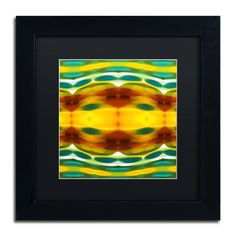 'Fury Pattern 5' by Amy Vangsgard Framed Graphic Art