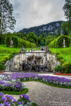 Linderhof - Munich, Germany.  I've been here.  It is truly beautiful.  Conrad Hornung