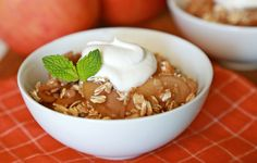 Healthy All-Natural Dessert Recipes: Slow-Cooker Apples