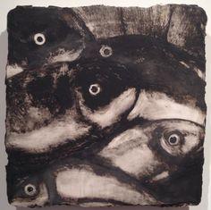 Fish, 1990 Donald Sultan