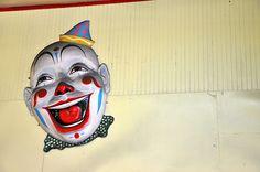 Clown Faces | Vintage Clown Face Trimper's | Flickr - Photo Sharing!