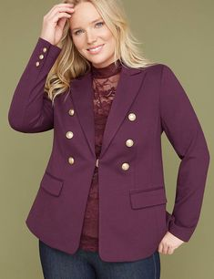 f05fc820117 288 amazing Ladies  outerwear - Blazers   Co. - Plus Size images in 2019