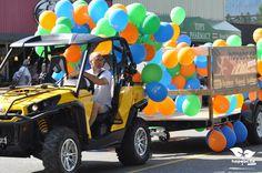 HopeBC.ca Float in the Hope Brigade Days Parade. www.HopeBC.ca