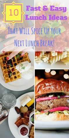10 fast easy lunch ideas that will spice up your next lunch break 10 fast easy lunch ideas that will spice up your next lunch break forumfinder Choice Image
