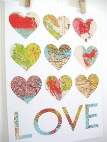 DIY Love Letter!  Perfect way to surprise a loved one with the itinerary for an upcoming trip!