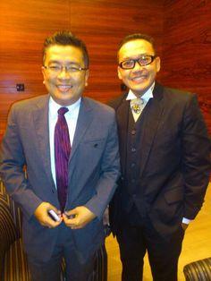 With Mr. Helmy Yahya  Producer, Presenter, motivator, etc