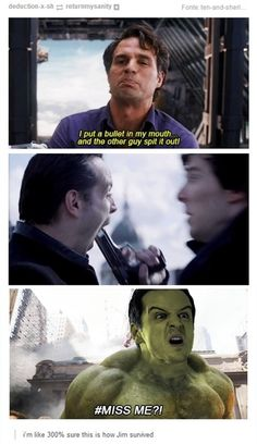 I wondered how he survived... I mean Sherlock was obviously cushioned by his ego but I had no idea about Moriarty.
