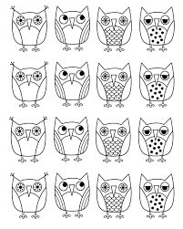 Image result for owl coloring pages for adults