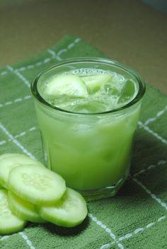 Agua de Pepino (Cucumber water)