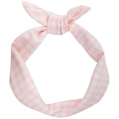 Ping Gingham Wire Bow Headband (€4,56) ❤ liked on Polyvore featuring accessories, hair accessories, hair, fillers, headbands, headband hair accessories, bow hairband, head wrap hair accessories, hair band accessories and wire bow headband