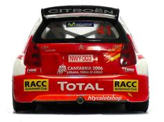 Citroën C2 Super 1600 JWRC Dani Sordo Scalextric htyc slotshop