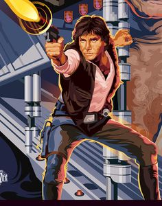 Han Solo Poster - Created by Garth Glazier You can also like his page on Facebook.