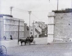 Porte Saint-Jean, avant qu'elle ne soit couverte