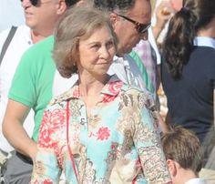 Doña Sofía ya disfruta de sus vacaciones de Semana Santa en Mallorca #queen #sofia #realeza #casareal #royals #royalty