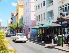 verkeer Curacao. #punda