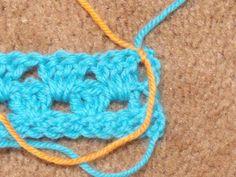 Easy Crochet Pattern: Granny Stripe Afghan Tutorial