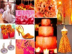 Arancione come colore del matrimonio