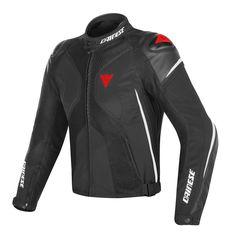 Super Rider D-Dry Jacket Black/White/Red-Fluo