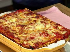 Lasagna from Anne Burrell