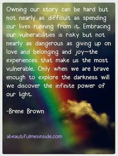 Look for the light!