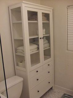 master bath storage cabinets from IKEA - Google Search